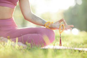 Yoga on fresh air