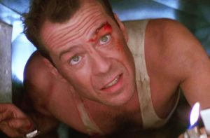 Bruce Willis in Die Hard Series