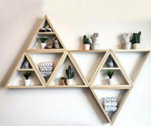 Customizable Hanging Shelves
