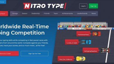 Nitro type account