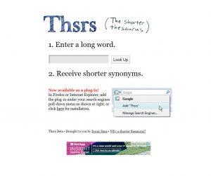Thsrs