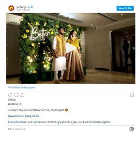 Gauhar Khan Wedding Photos