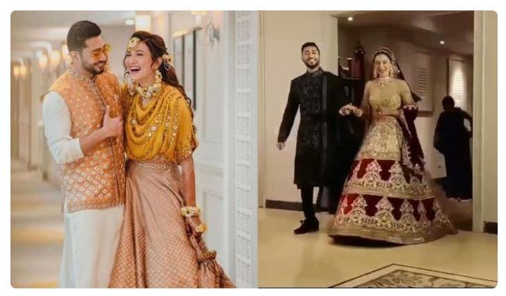 Gauhar Khan- Wedding Pictures