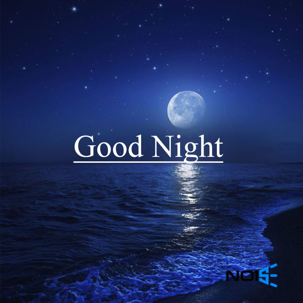 Good Night - Whatsapp DP Moon & SEA