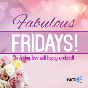 Fabulous Fridays! Be Friday, love well happy weekend!