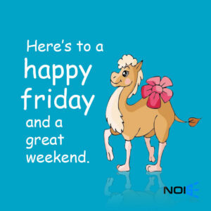 Here's to a happy Friday and a great Weekend!.