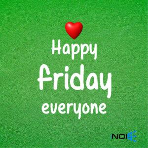 Happy Friday Everyone.