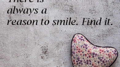 There is always a reason to Smile. Find it