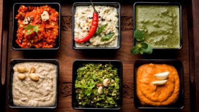 Eight Indian Chutneys &Their Health Benefits