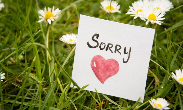 How to Contend With a Missing One's Sorry