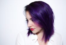 Dark Purple Hair Color Ideas for One-Of-A-Kind Ladies