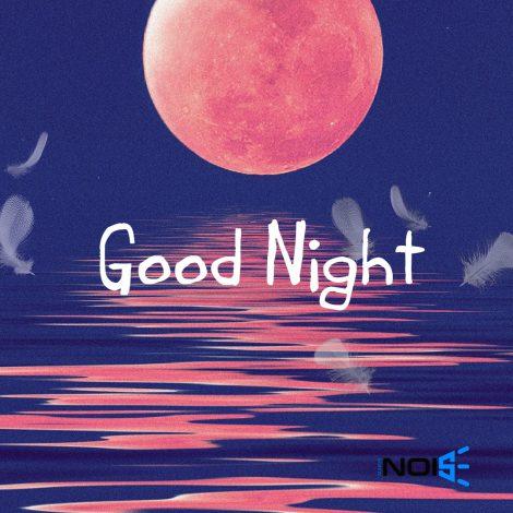 Good Night Beautiful DP Pics : Moon & Sea